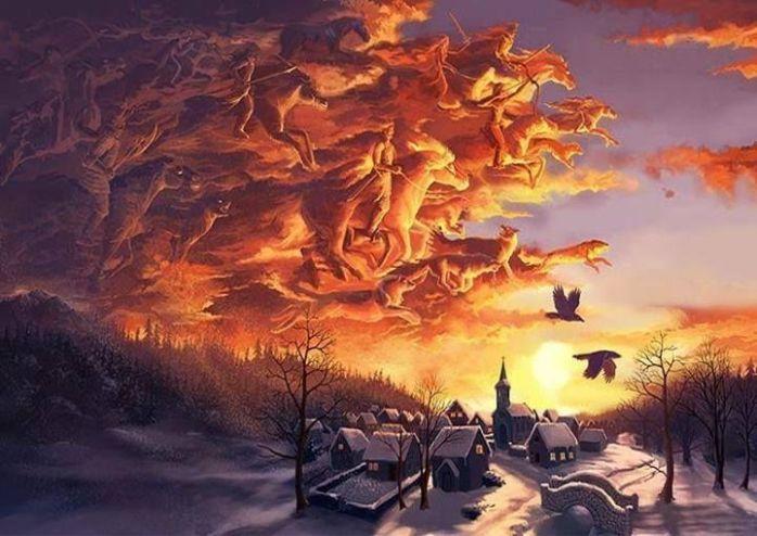 hunting-party-norse-mythology