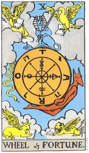 tarot wheel of fortune